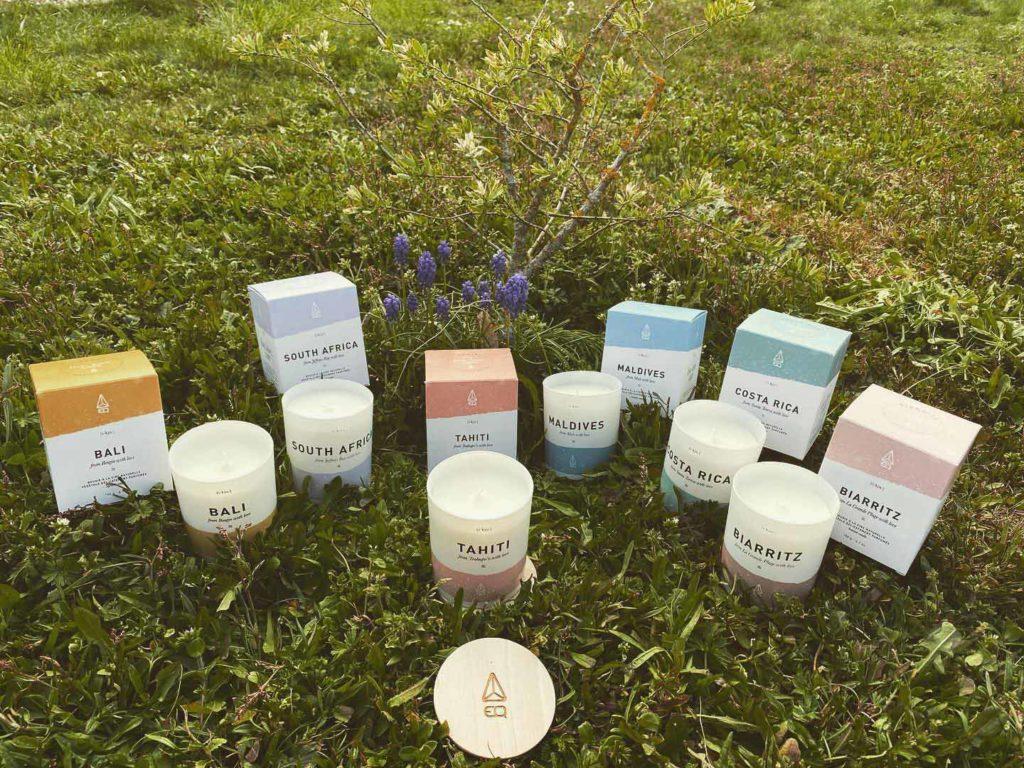 Bougies parfumées EQ Love